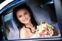 Braut Hochzeitsauto
