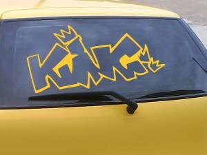Autoaufkleber King